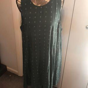 Old Navy Green Dress XXL